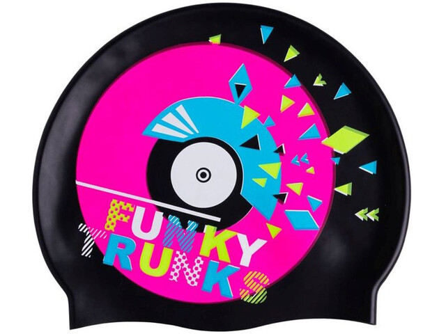 Funky Trunks Silicone Bonnet de bain, disco stu